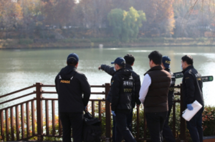 [Newsmaker] Body of missing college student recovered from Seokchon Lake
