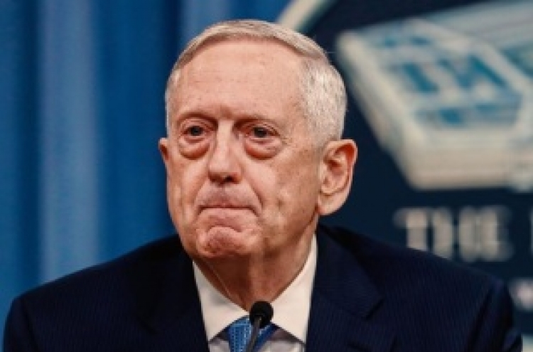 Mattis: N. Korea is most urgent threat to US
