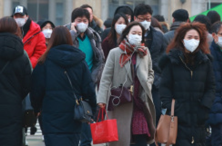 Choking fine dust envelops Korea for 5th straight day