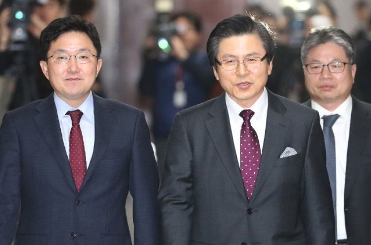 Ex-prime minister joins main opposition party, distances himself from ousted former president