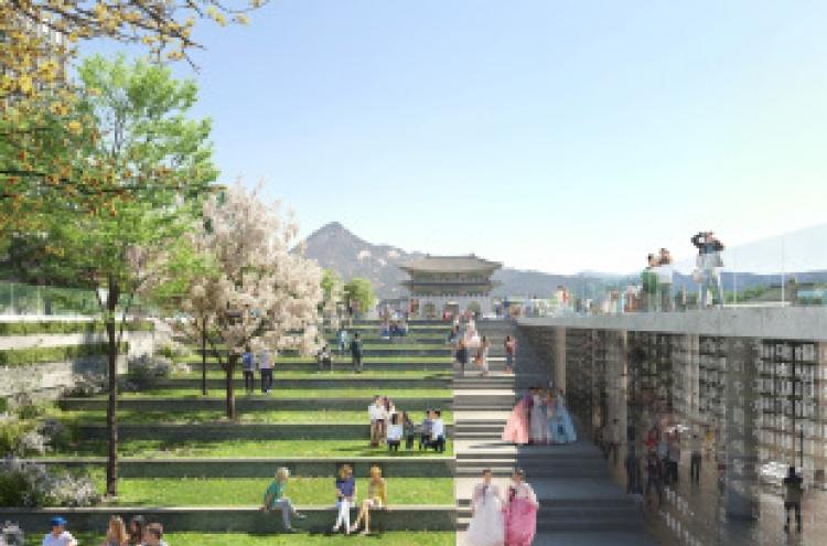 [Newsmaker] Seoul to expand Gwanghwamun Square, create underground path by 2021