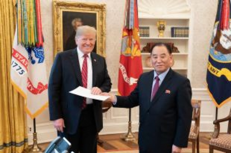 Trump touts NK developments as 'historic result'