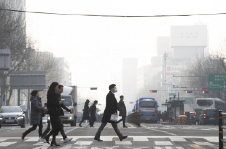 Fine dust emergency measures issued nationwide except Jeju