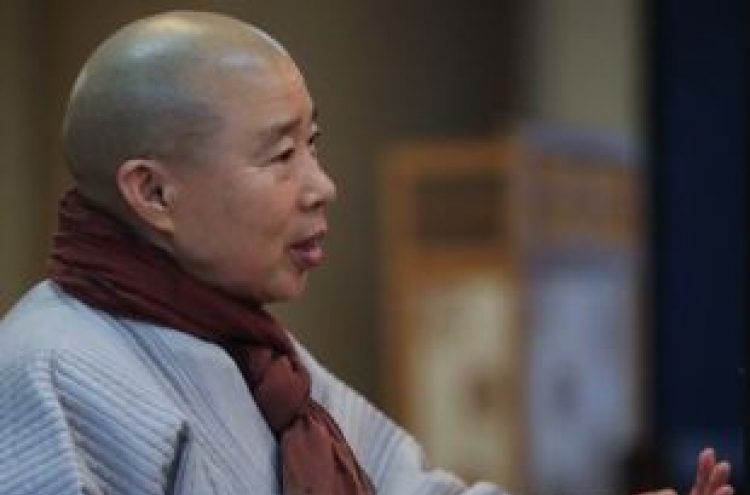 [Weekender] Buddhist chef Ven. Jeongkwan on spring sprouts, cooking and nature