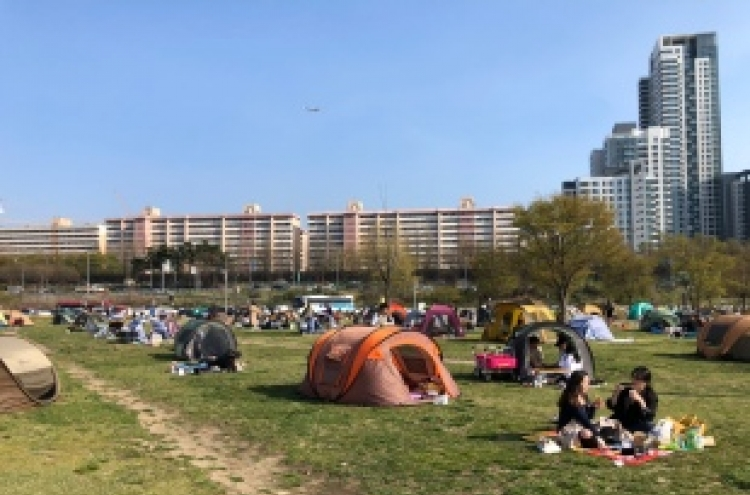 Seoul to fight against closed tents, trash in Hangang parks