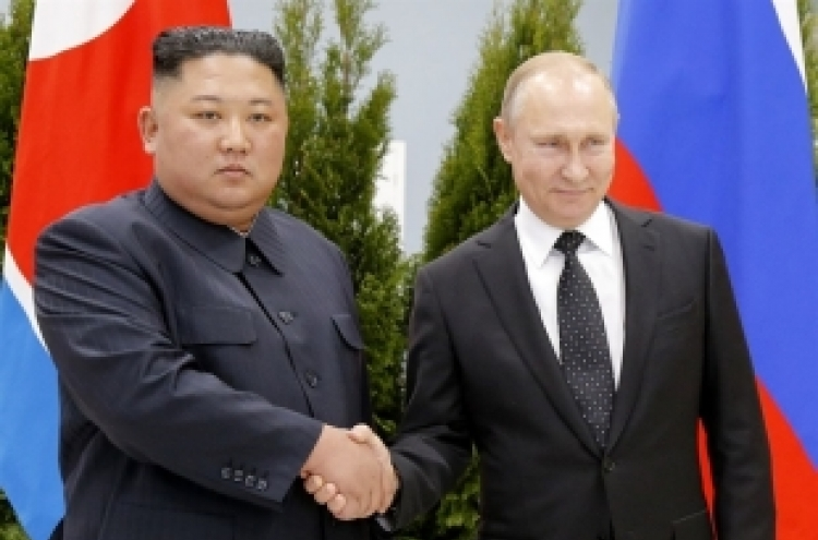 Putin calls for six-way talks for North Korea's denuclearization