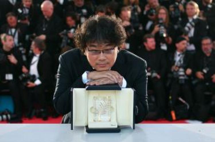 Bong Joon-ho bags Palme d'Or in Cannes milestone for Korea