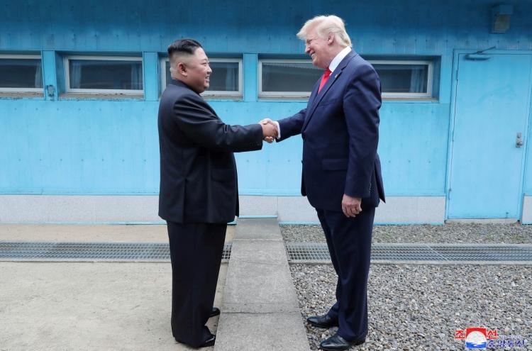 20190704000593 0 - Ким Чен Ын и Дональд Трамп провели встречу