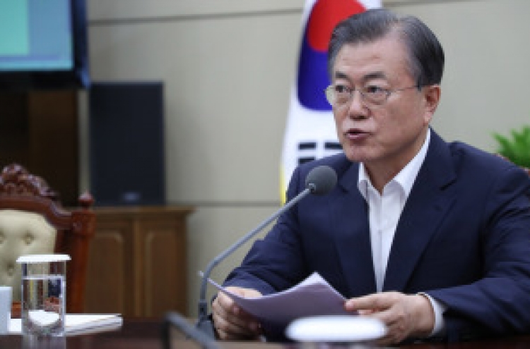 Moon to hold meeting with economy advisory group over Japan's export curbs