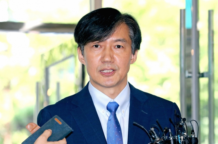 Corruption allegations have Cho Kuk in a corner