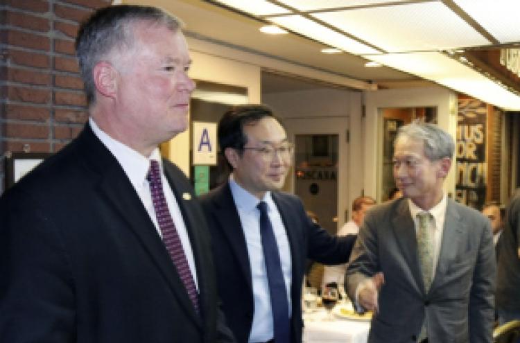 Envoys of S. Korea, US, Japan discuss NK talks