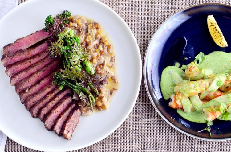 Ingredient-focused, fresh suppers at Sanok