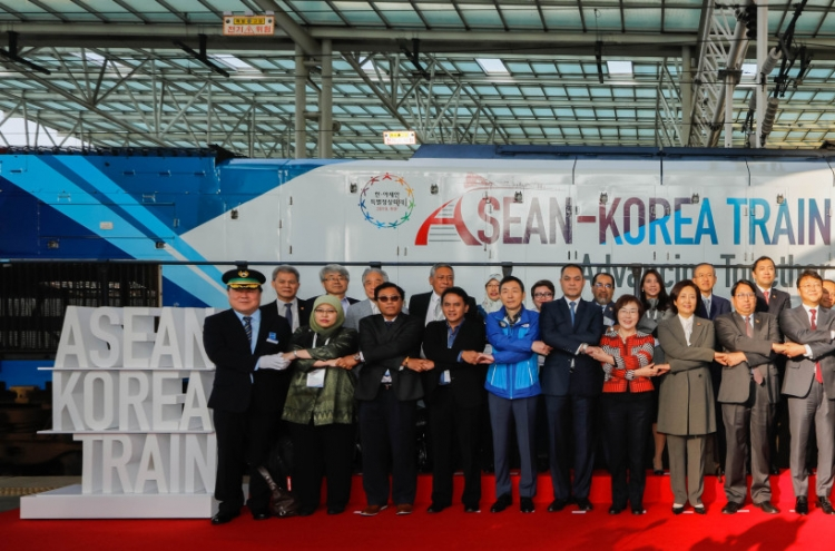 [Photo News] ASEAN-Korea Train Launch