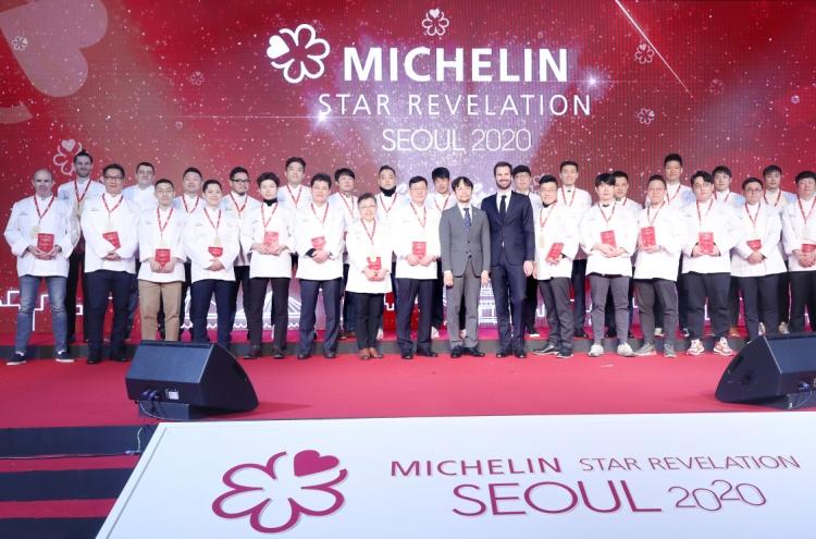 Michelin reveals new starred restaurants in Seoul