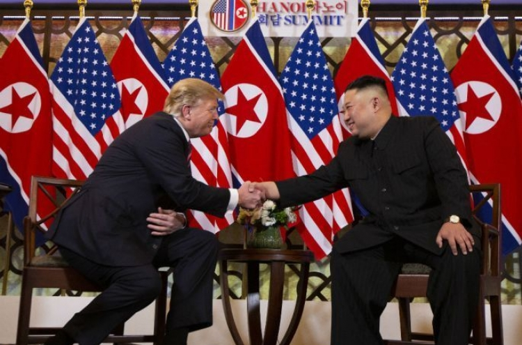 Trump urges NK leader to 'act quickly,' 'get deal done'