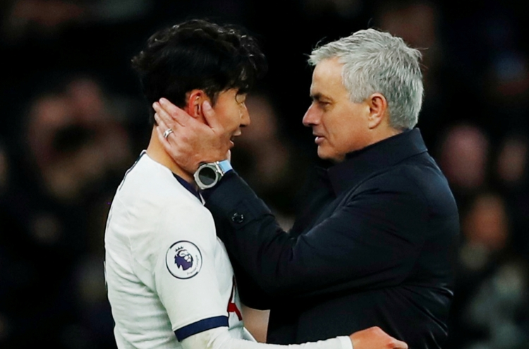 'Son-aldo!': Mourinho salutes South Korean's wonder-goal