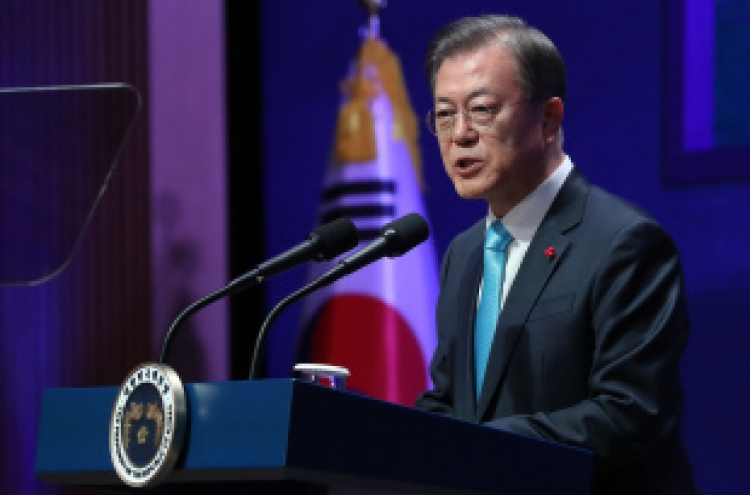 President Moon vows more reforms to achieve 'shared prosperity'
