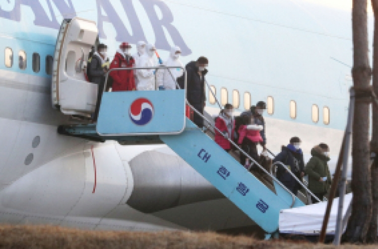 3rd evacuation of Wuhan planned, Chinese relatives of Koreans to be included in flight