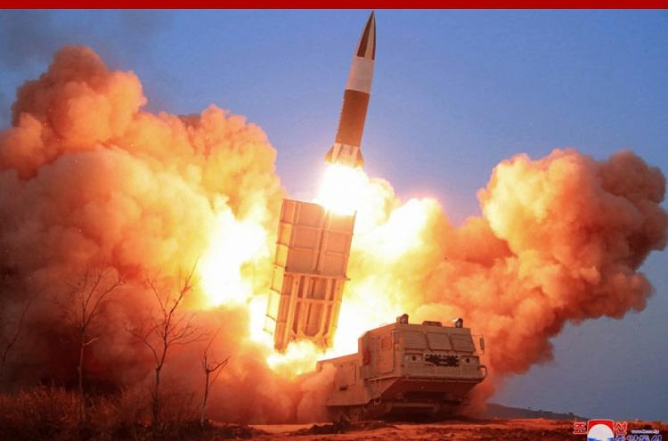 N. Korea fires 2 short-range ballistic missiles into East Sea: JCS