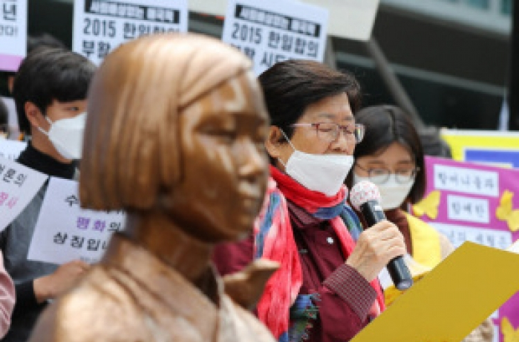 'Comfort women' movement in crisis