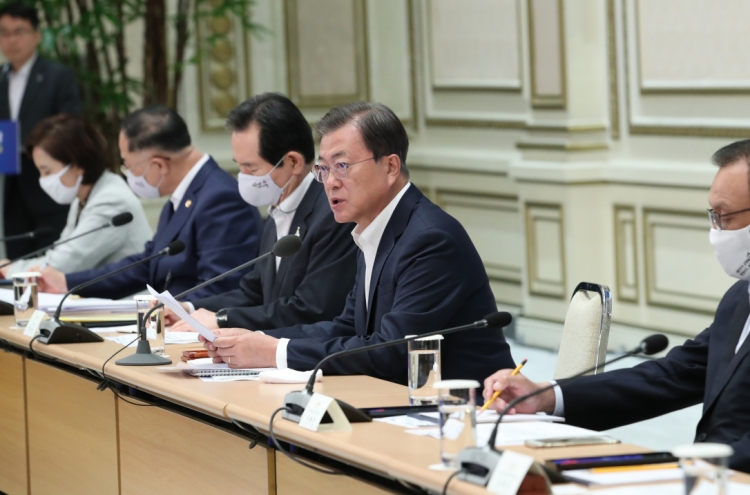Moon calls for bold fiscal strategy in light of COVID-19