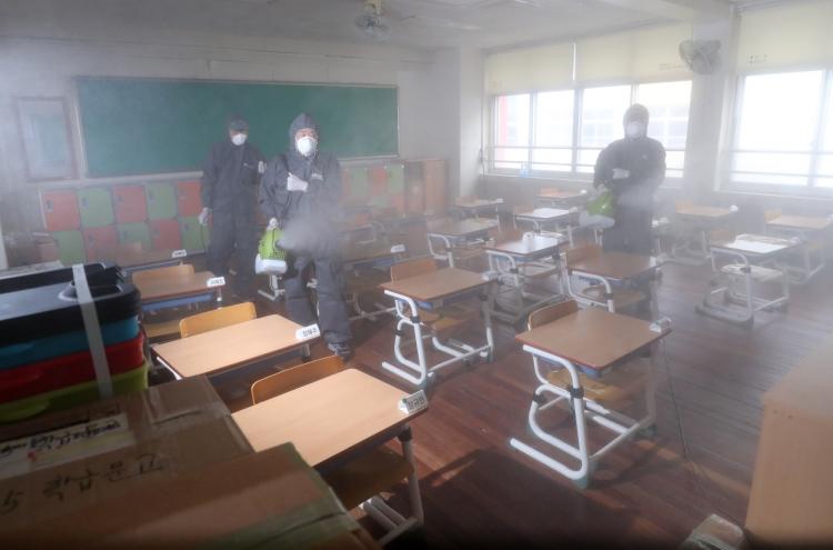 S. Korea confirms first virus spread at school