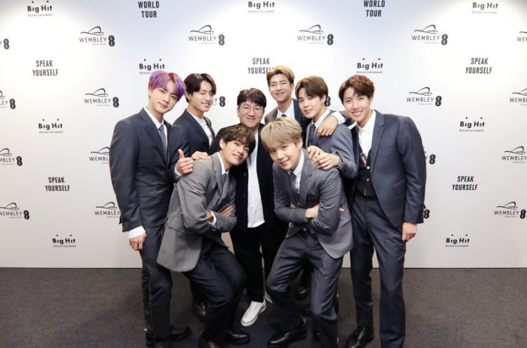 Bang shares his formula behind BTS' success