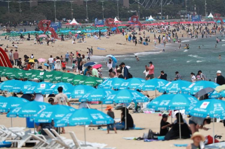 Masks to be mandatory on Busan's Haeundae Beach