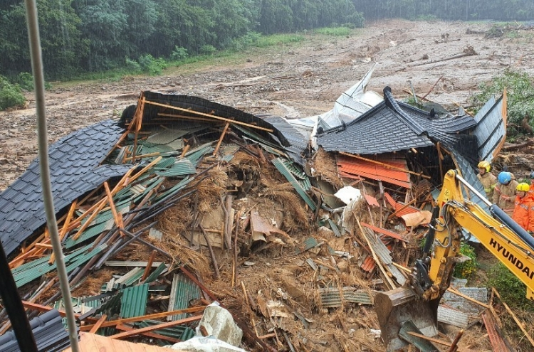 Thousands evacuate as heavy rains trigger flood, landslides