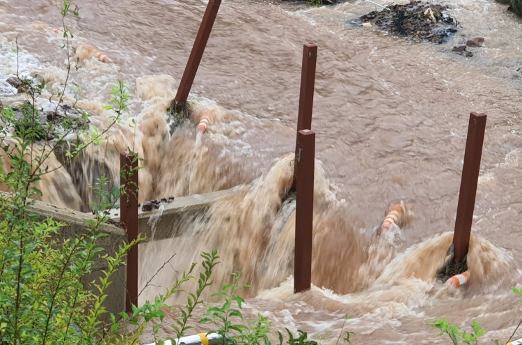 2,500 people displaced after downpour, more rain expected over weekend
