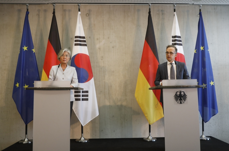 Germany says Russia hurdle to Korea's G-7 participation