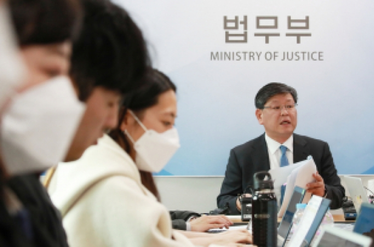 Moon names lawyer as new vice justice minister