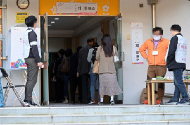 6.45 million voters rush to cast ballots for mayoral by-elections