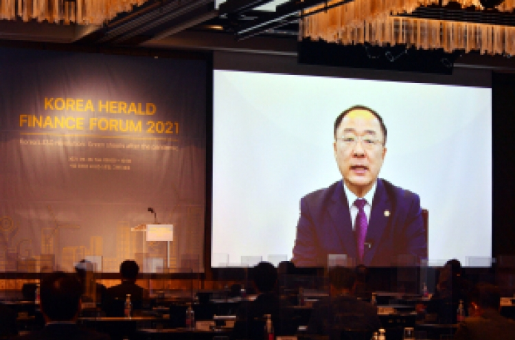 [KH Finance Forum] S. Korea to promote ESG policies with support, not regulation: finance minister