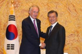 Moon says even slight conflict on Korean Peninsula may threaten many lives