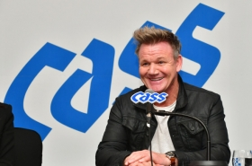 Gordon Ramsay calls Cass a 'beer of the people'