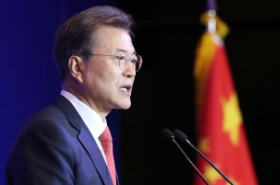 Moon calls for stronger economic, political ties with China