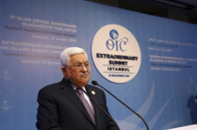 Palestinian president says no role for US in peace process