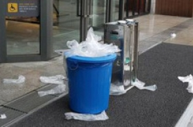 Seoul to remove plastic umbrella sleeves from metro, state offices