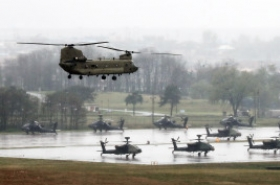 Allies' joint military drill to be suspended during inter-Korean summit