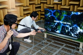 Masters of colors and sound behind meticulous tuning of LG OLED TV