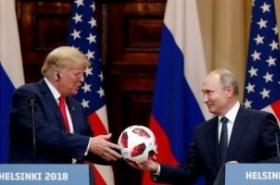 Shock, alarm as Trump backs Putin on election meddling at summit