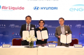 Hyundai partners with French firms for hydrogen drive