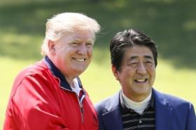 Trump brushes off concerns over N. Korea missile tests