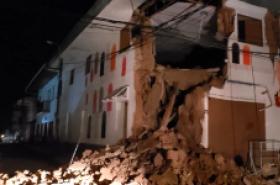 Strong 8.0-magnitude earthquake hits Peru, no injuries reported