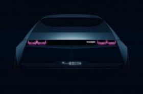 Teaser image for Hyundai Motor's EV concept car 45 revealed