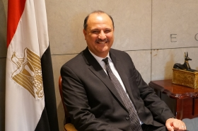 [Diplomatic circuit] [Meet the diplomat] Egypt is eager for transfer of technology, economic growth: Egyptian envoy