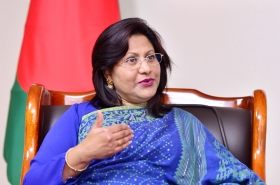 Bangladesh's top envoy expresses hope for Moon's visit