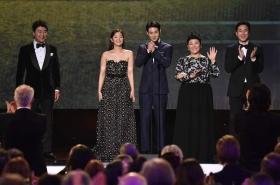 'Parasite' invades Oscars race with stunning SAG award win