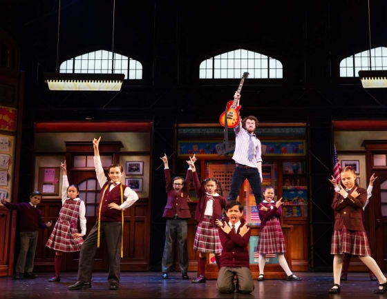 [Herald Review] 'School of Rock' delightfully charming, as talented cast rocks on